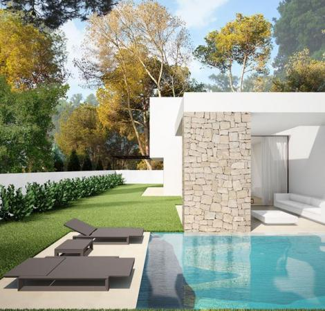 New 3 Bedroom, 2 Bathroom Villa in Moraira